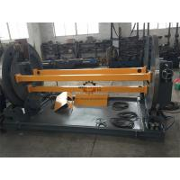 Quality Power Pole Machine Motorized Elevation Self Centering PLC Connection With Robot for sale