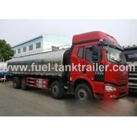 FAW  Insulated Tanker Trailers 220 Horse Power Strong Power Fresh Keeping Structure