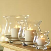Quality promotional glass candle holder for decoration for sale