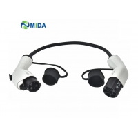 Buy cheap CE IEC62196 Male Plug To Female Plug Type 2 EV Cable Standard Grounding from wholesalers
