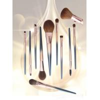 Quality OEM high quality wood handle full professional makeup brush set manufacturer for sale