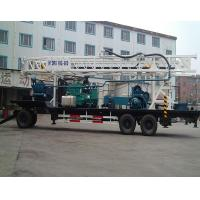 Quality 24 T 380Volt BZT600 Water Well Drilling Equipment / Rotary Drilling Rig for sale