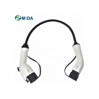 Quality CE IEC62196 Male Plug To Female Plug Type 2 EV Cable Standard Grounding for sale