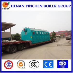 Quality Yinchen Brand 4000Kg-20000Kg Safety Valve SZL Series Boiler For Garment Insdustry for sale