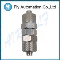 China Series 1000 Swivel Male Tee Sprint , Silvery Tube Rapid Brass Pneumatic Fittings on sale