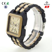 Multifunction Sports Men Analog Wooden Watches For Promotional Gift