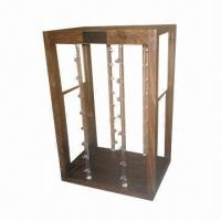 Best Sunglass Display Cabinet with Lazy Susan Base and Acrylic Poles  wholesale