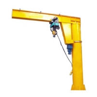 Quality Low Noise Electric Hoist 5 Ton 10ton Slewing Jib Crane for sale