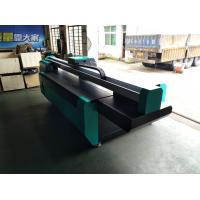 Quality 2500*1300mm UV Flatbed Printer with Double DX7 heads for rigid flat material like glass,ceramics,PVC board,wood,metal for sale