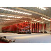 Best Q235B Steel Cantilever Storage Racks , Selectivity Heavy Duty Cantilever Racking wholesale
