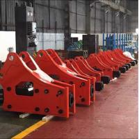 Quality Customized Durable Steel Chisel Side Bracket Hydraulic Breaker For Mining / Breaking for sale
