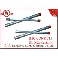 """Quality Hot Dip Rigid Intermediate Metal Conduit IMC Conduit Pipe 1/2"""" to 4"""" UL Listed for sale"""