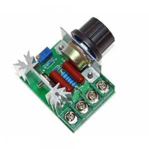 Best 2000W 220V AC SCR Electric Voltage Regulator Motor Speed Control Controller wholesale
