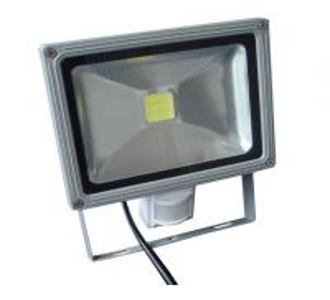 China Energy Saving Cool / Warm White Outdoor Led Flood Light With PIR Sensor on sale
