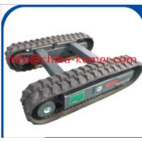 3 ton Rubber Track Undercarriage on construction machinery/2016 new hydrualic  crawler undercarriage