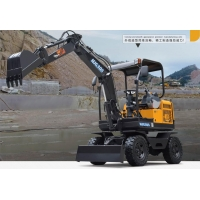 China 60L/min 2900mm 2.5 Ton Multifunction Telescopic Excavator for sale