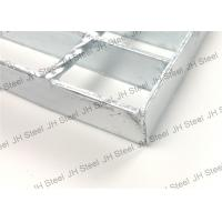 Quality High Strength Heavy Duty Bar Grating , Pressure Welded Galvanized Steel Floor for sale