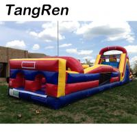 Buy cheap Outdoor commercial inflatable kids obstacle course equipment for exercise from wholesalers