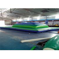 China Professional 0.55mm Pvc Outdoor Blow Up Toys Inflatable Mountain Air Bag on sale