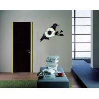 Quality Metal Bird Wall Decoration Designer Wall Sticker Clocks 10A027  for sale
