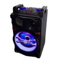 Cheap 10 Inch Rechargeable multifunction Trolley Speaker with KARAOKE Function for sale