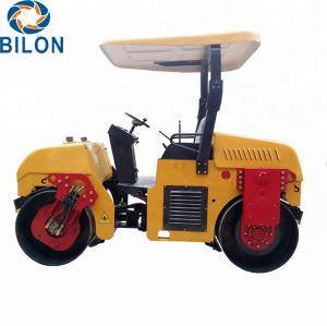 Quality 3 Ton Road Construction Machinery 3000kg Double Drum Asphalt Road Roller for sale