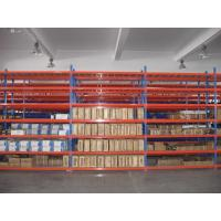 China Long Life Span Metal Storage Shelving 50mm Pitch Easy Assembly For Warehouse on sale