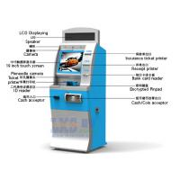 Quality License-based Air Tickets Vending Machine LED Displaying On The Top for sale