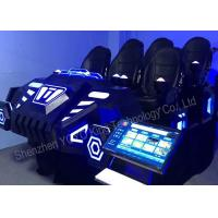 Buy 6 Seats Family Games Machine 9D VR Games Simulator With Virtual Reality Glasses at wholesale prices