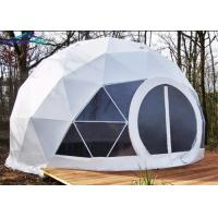 China Fireproof Camping Geo Dome Tent Customized Design Exhibition Dome Tent on sale