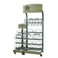 Best Retail Journal Literature Newspaper Display Rack Floor Standing Metal Display Stand wholesale