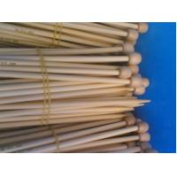 Quality Single head natural Bamboo Knitting Needles for neck warmers and glove for sale