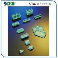 Buy PA66 Plastic Male Connector Plug In Terminal Block 2.50mm Screwless PCB 2P-24P at wholesale prices
