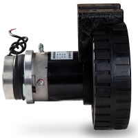 China KAD04-DCY Large Torque 400W Forklift Drive Steer Motor for sale