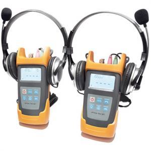China JZ4103N Optical Test Instruments / Hand Hold Optical Talk Set For Maintenance CATV on sale