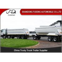 China Farming Draw Bar Trailer With Turntable 20 - 50 Tons Loading Capacity on sale