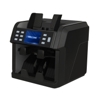 Buy cheap FMD-4200 two pocket value bill counter money counter and sorter banknote from wholesalers