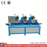 China Square Tube Automatic Grinding Machine , Surface Grinding Machine Dry Polishing on sale