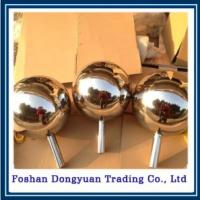 China 200mm Gazing Stainless Steel Hollow Ball on sale