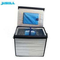 Quality New Design Portable Collapsible Cooler Box with VIP thermal material for sale