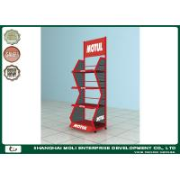 Best Hot sale customized display metal display stand metal oil lubricant display stand wholesale