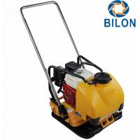 Quality Easy Operation Heavy Duty Plate Compactor With Honda Engine / Water Tank for sale