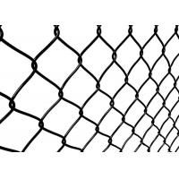 Quality 3.0mm Diameter Wire Mesh Garden Fence , Chain Link Fence Mesh 1m-3.6m Height for sale