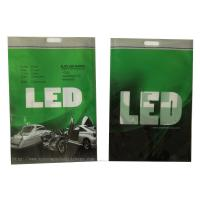 LED Useage Custom Reusable Shopping Bags , Resealable Plastic Bags PE Material