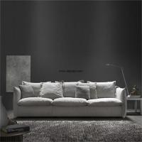 Quality relaxing home furniture fabric sofa set design with split latex inside the seat cushion for sale