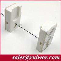 Quality RW0017 Adhesive Magnetic ABS Holder For Anti Theft Cable/ Retail Display Security Cables for sale