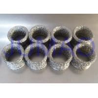 Quality Compressed Metal Knitted Mesh Filters Rings Shape Gaskets With Copper Material for sale