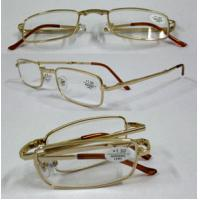 China Promotion UV400 Retro Foldable Plastic frame Reading Glasses with light weight on sale
