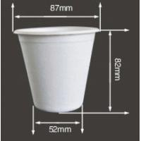 Quality BAGASSE BIO-DEGRADABLE CUP, GOOD SUBSTITUTE OF PAPER AND PLASTIC CUPS, FOR HOT OR COLD BEVERAGES, CAN FIT WITH LID/COVER for sale