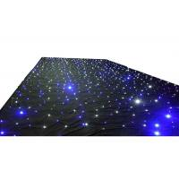 Quality Wedding LED Curtain Lights Warm White Color Temperature For Stage Backdrops for sale